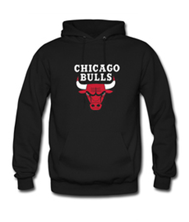 Chigago Bulls Hoodie Schwarz