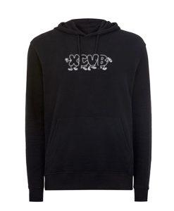 XCVB logo Black hoodie