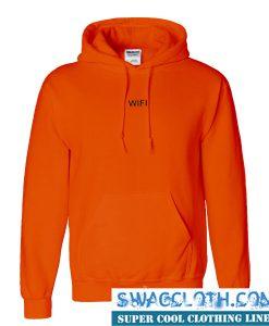Wifi Orange Hoodie