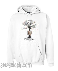 Accordion Musical Tree Hoodie