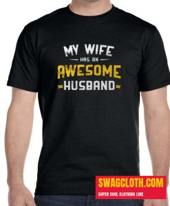 A Cool Tee For An Awesome Husband daily t shirt