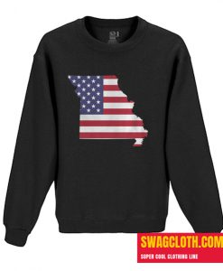 4th Of July Missouri Daily Sweatshirt