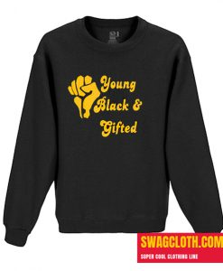 Young black gifted Daily Sweatshirt