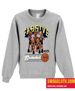 ab Five Michigan Retro Caricature Daily Sweatshirt