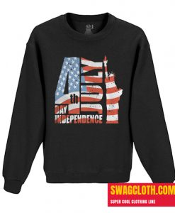 4th July Day Independence Daily Sweatshirt