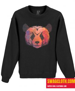 Abstract Panda Daily Sweatshirt