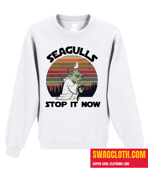 Seaguls Stop it Now Daily Sweatshirt