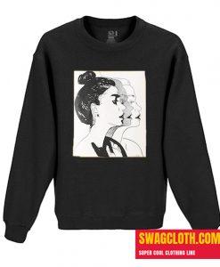Women Shadding Daily Sweatshirt