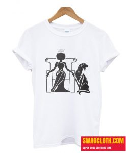 'African American Queen Nubian Princess Afro Hairstyle' T-Shirt