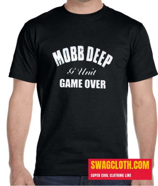 Mobb Deep G-Unit Game Over Black Logo Daily Shirt