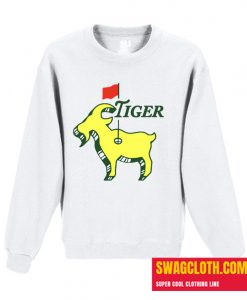 Tiger Goat Masters Tiger Woods Good at Golf Daily Sweatshirt