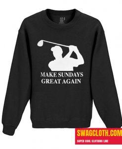 Tiger Woods Make Sundays Great Daily Sweatshirt