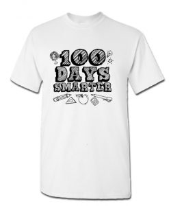 100 Days Smarter Funny 100 Days Of School NL T-Shirt