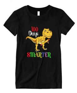 100 Days Smarter Happy 100th Day Of School Student Teacher NL T-Shirt