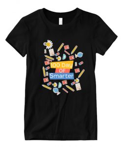 100 day of school 100 day of smarter NL T-Shirt
